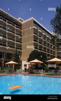 Hotel Des Mille Collines Kigali Rwanda Stock