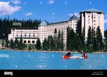 Canada Alberta Banff National Park Hotel Castle