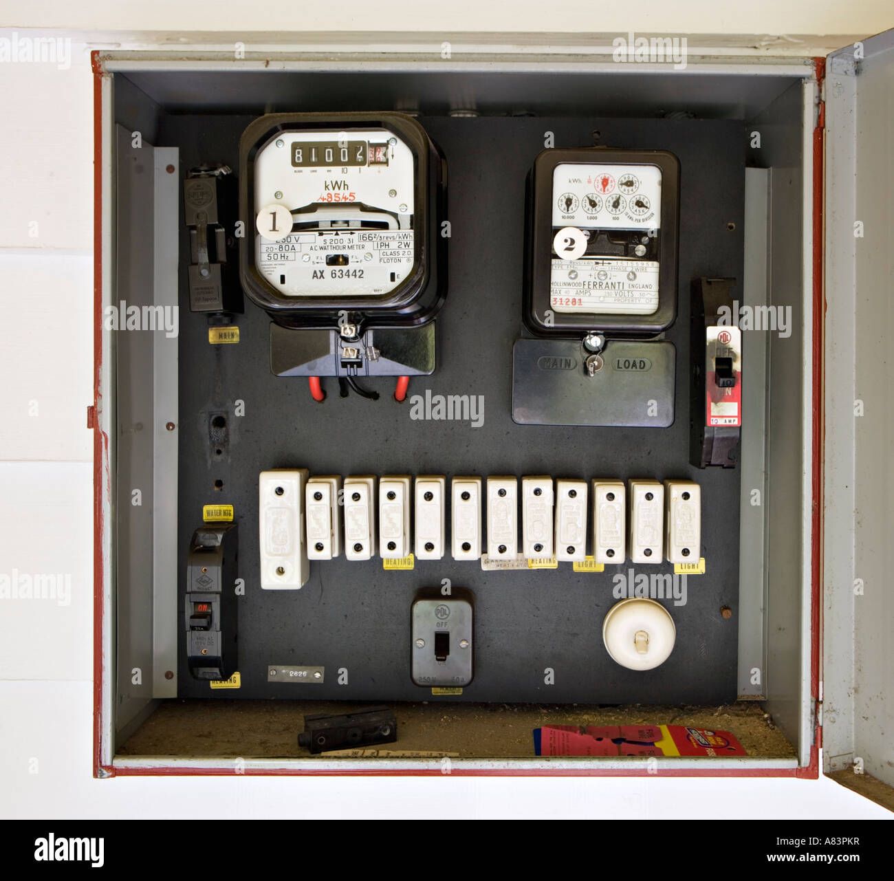 hight resolution of fuse box stock photos fuse box stock images alamy change fuse fuse box electricity meter