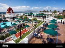 Pool Area Hotel Del Coronado Island Of