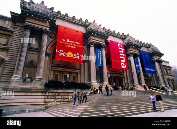 Usa York Buildings In Manhattan Metropolitan Museum Of