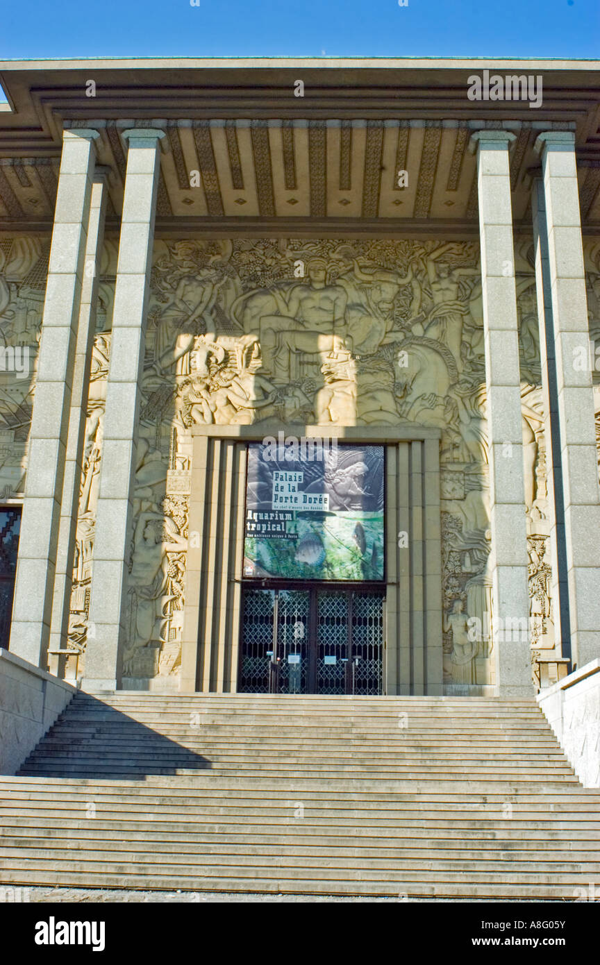 Cité Nationale De L'histoire De L'immigration : cité, nationale, l'histoire, l'immigration, Paris, France,, Exterior,
