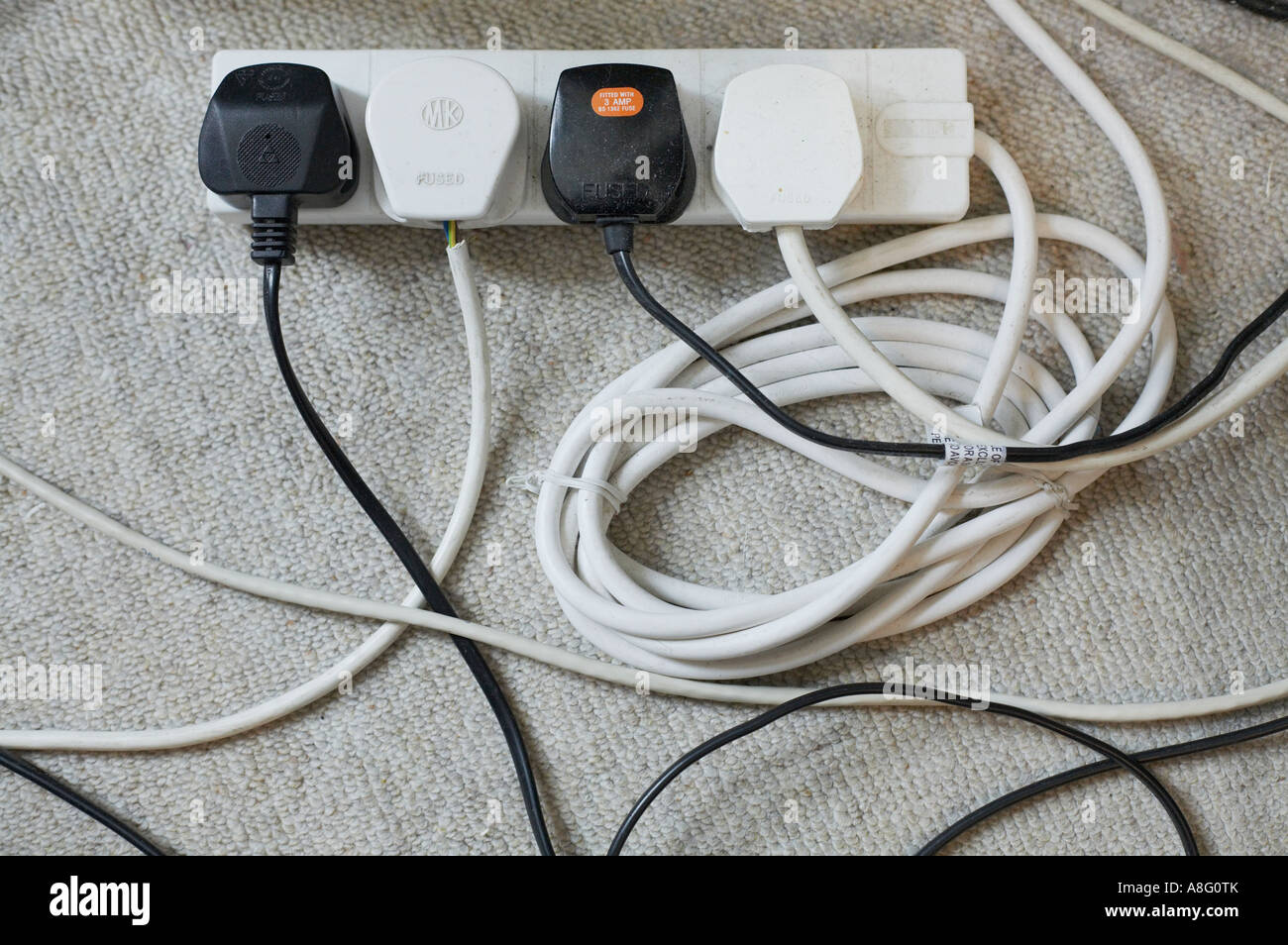 hight resolution of electrical plug wires extension leads cable unit mess tangle too many electricity electric mains peripherals