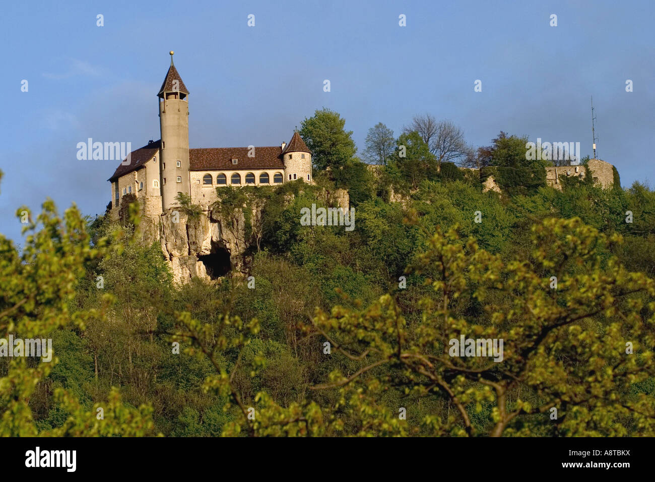 the castel Teck Kirchheim Unter Teck Germany BadenWuerttemberg Stock Photo Royalty Free