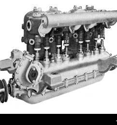 diagram of argyll 4 6 horse power petrol car engine stock image [ 1300 x 1009 Pixel ]