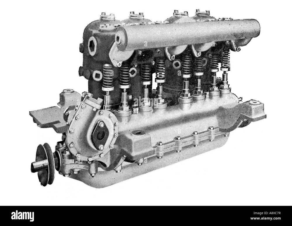 medium resolution of diagram of argyll 4 6 horse power petrol car engine stock image