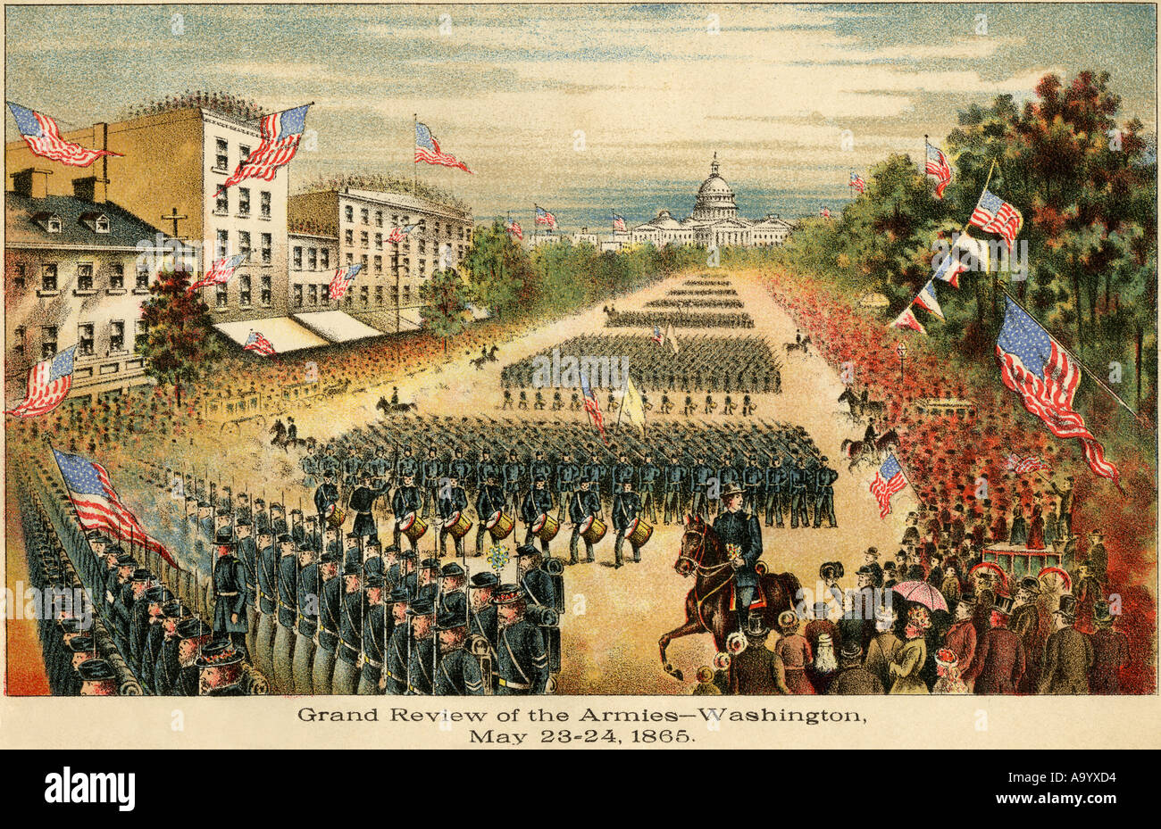 Grand Review Of The Armies At The End Of The Civil War On