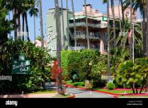 Beverly Hills Hotel And Gardens Stock 12489663