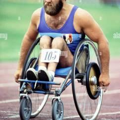 Wheelchair Olympics Zero Gravity Chair Uk Racing Paraplegics Stoke Mandeville Hospital England United Kingdom