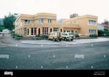 Exterior Of Palm Beach Hotel Gisenyi Rwanda Stock