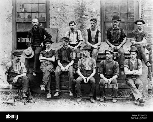 1890s 1900s group of 11 factory