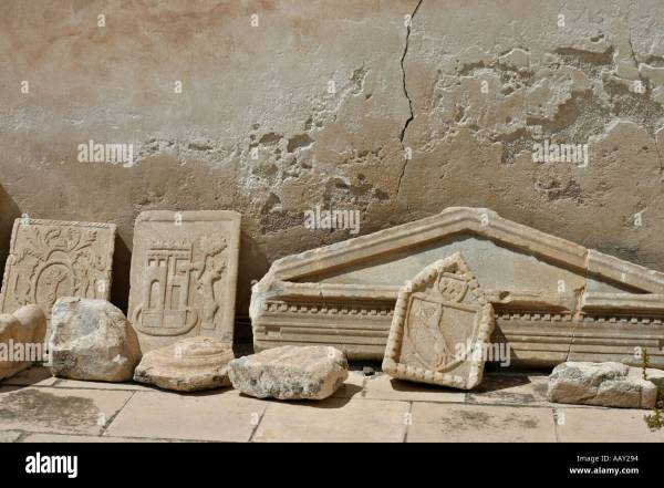 3d Puzzle Pieces Of Ancient Architectural Marble