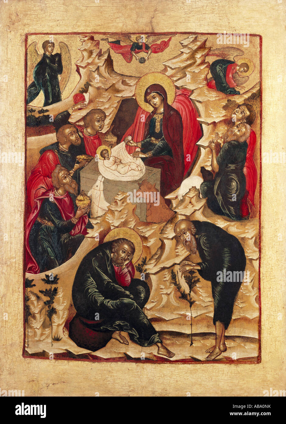 Fine Arts Religious Art Jesus Christ Adoration Of The