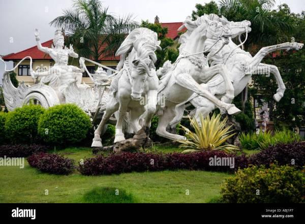 Traffic Roundabout Gianyar Bali Indonesia Stock 7372582 - Alamy