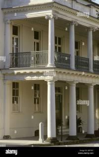 Charleston SC South Carolina wrought iron railing balcony ...