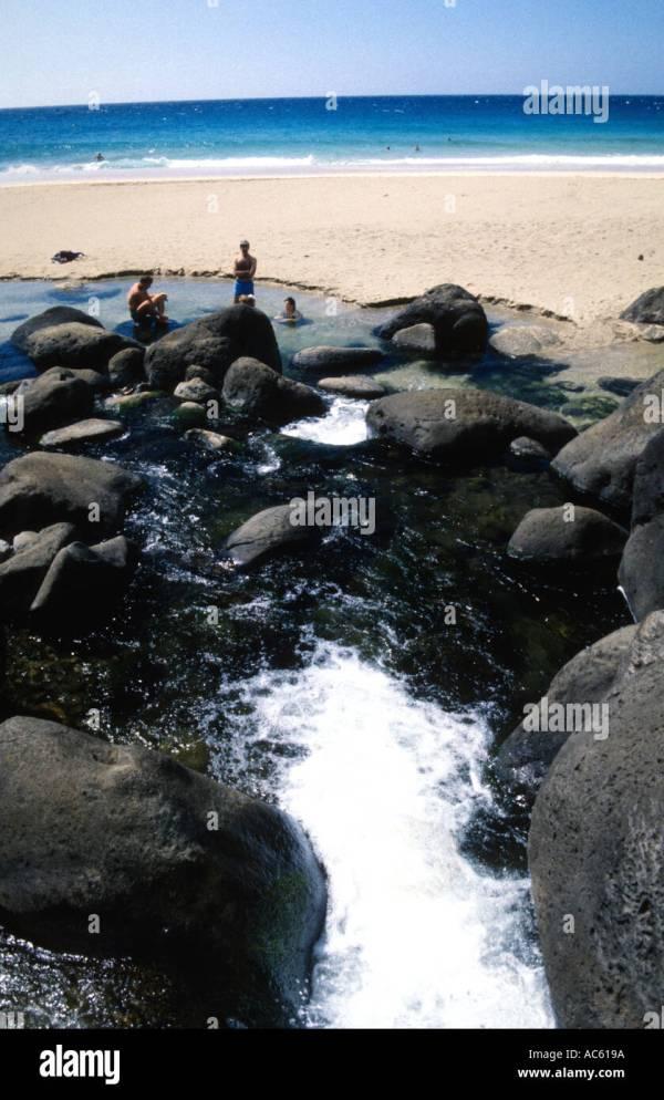 Hanakapiai Beach Stock &