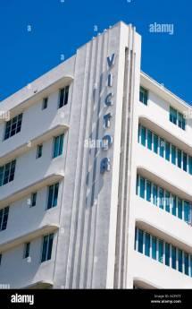 Art Deco Design Architecture Stock &