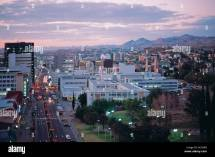 City View Windhoek Namibia Stock &