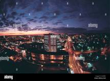Downtown Windhoek Namibia Stock &