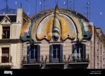 Barcelona Art Nouveau Architecture Building