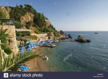 Mermerli Beach Antalya Turkey Stock Royalty Free