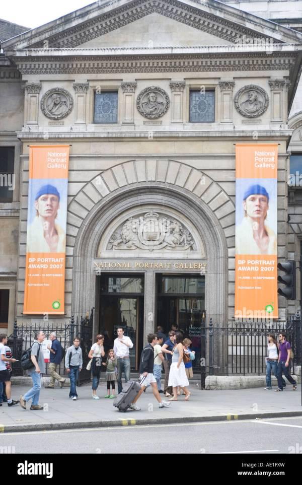Entrance National Portrait Stock &