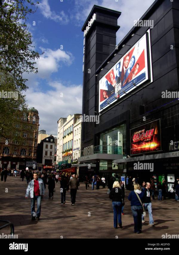 Leicester Square London England Stock & - Alamy