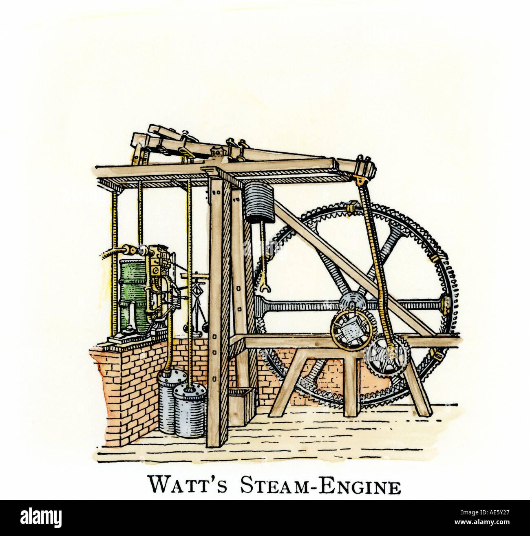 james watt steam engine diagram 99 mustang headlight wiring schematic drawing of stock photo