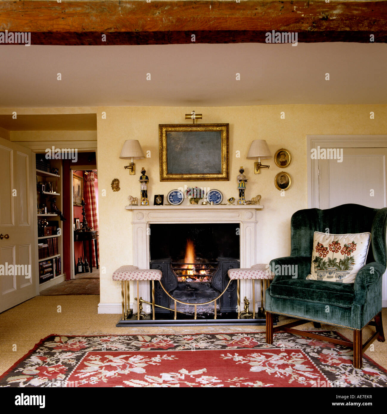 living room rug sets carpet trends armchair on set next to lit fire in sitting of english country house