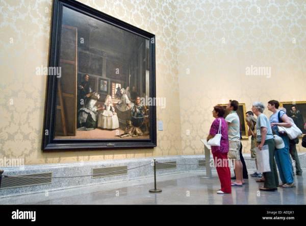 Las Meninas Diego Velazquez In Museo Del Prado