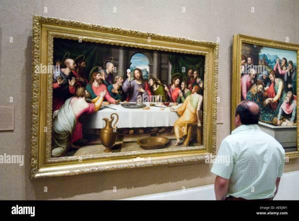 Supper Juan De Juanes Museo Del Prado
