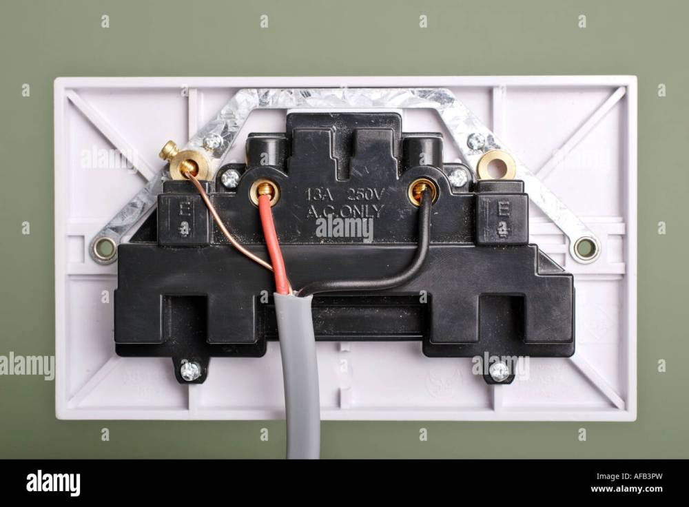 medium resolution of rear view of 3 pin electrical socket wiring