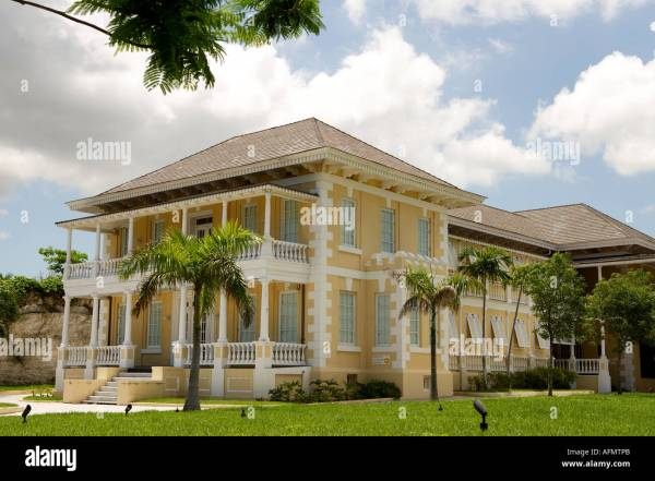 National Art Of Bahamas Dunmore House West And Stock 7989866 - Alamy