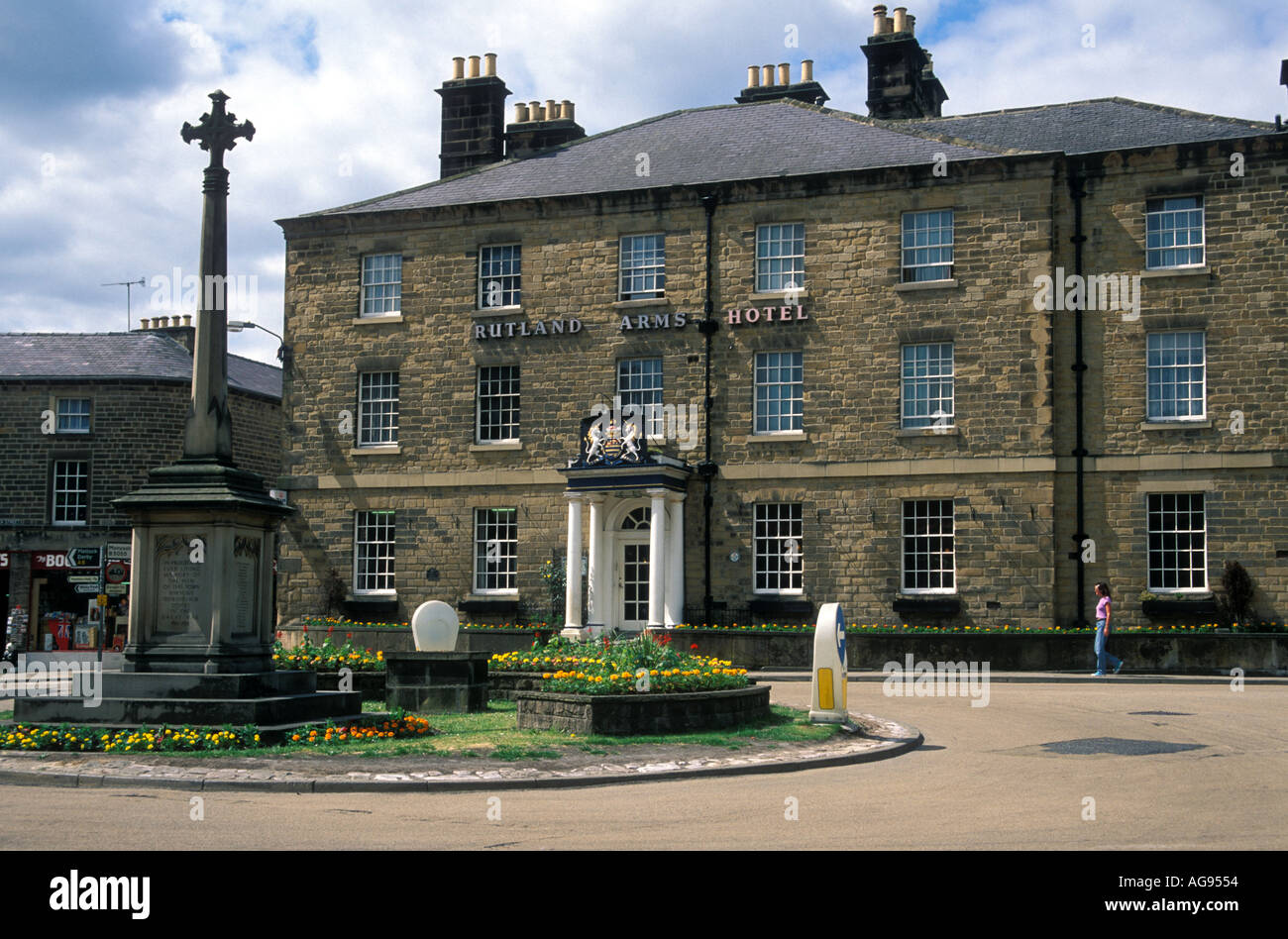 Rutland Arms Hotel Bakewell Peak District Derbyshire England