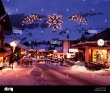 Verbier Switzerland Town