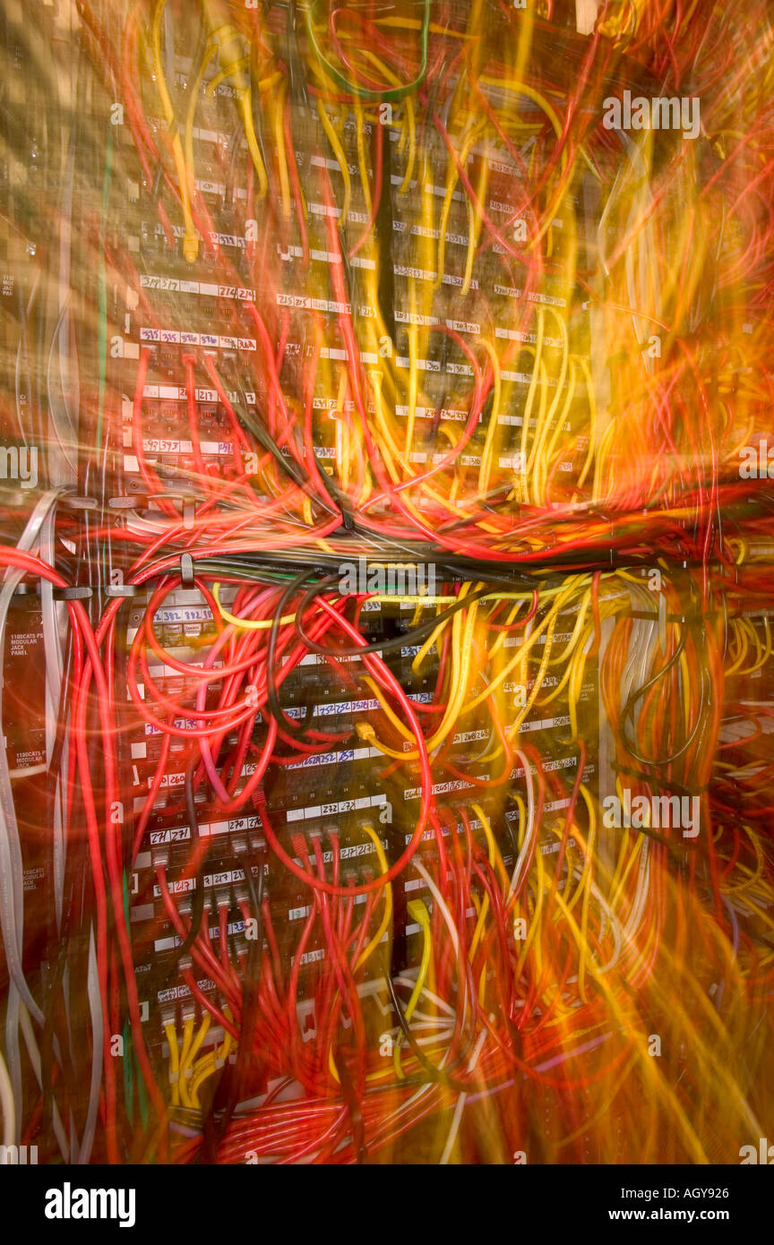 medium resolution of server wires zoom vertical 2 stock image