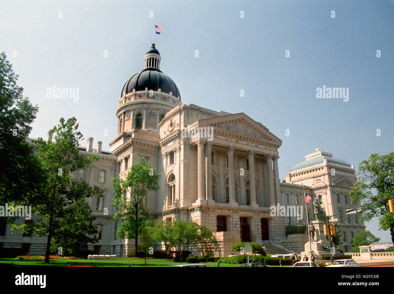 Indiana State Capitol Stock Photos Amp Indiana State Capitol