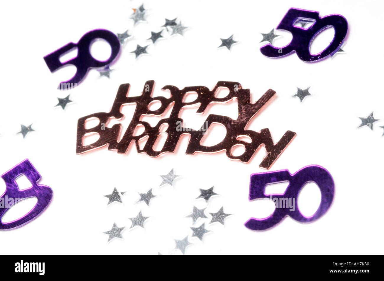 50th happy birthday celebration