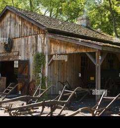 illinois grand detour blacksmith shop at john deere historic site steel plows outside replica shop steel [ 1300 x 956 Pixel ]