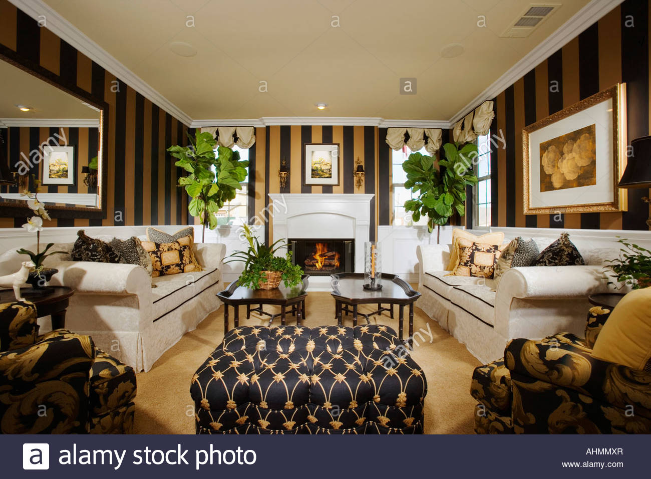 elegant living rooms with fireplaces black friday room furniture sales fireplace stock photos image