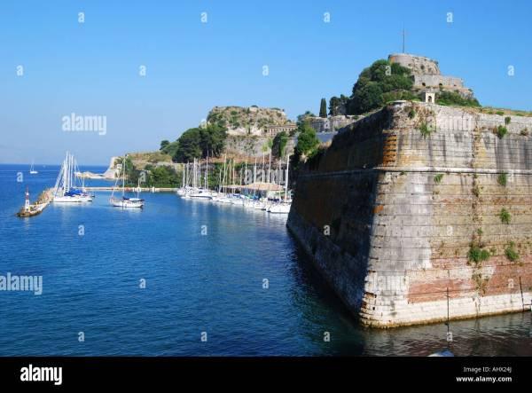 Neo Frourio New Fortress Corfu Town Kerkyra Corfu