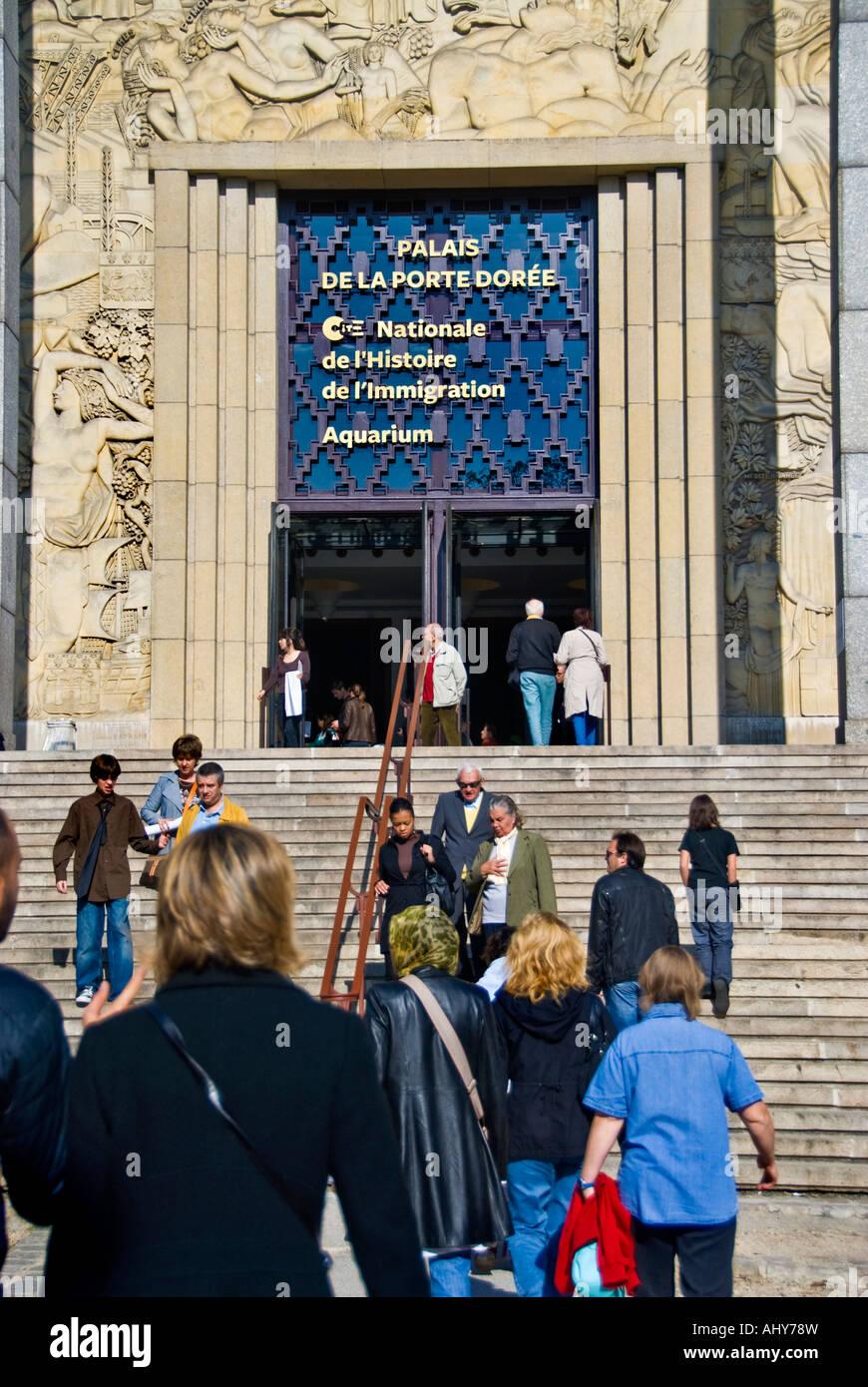 Cité Nationale De L'histoire De L'immigration : cité, nationale, l'histoire, l'immigration, Museum, History, Immigration, Paris, Resolution, Stock, Photography, Images, Alamy