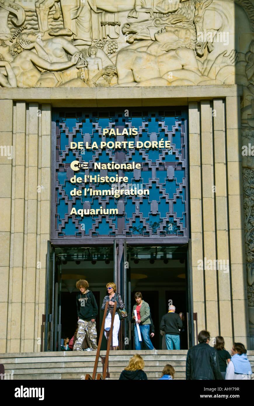 Cité Nationale De L'histoire De L'immigration : cité, nationale, l'histoire, l'immigration, Paris, France,, Outside,