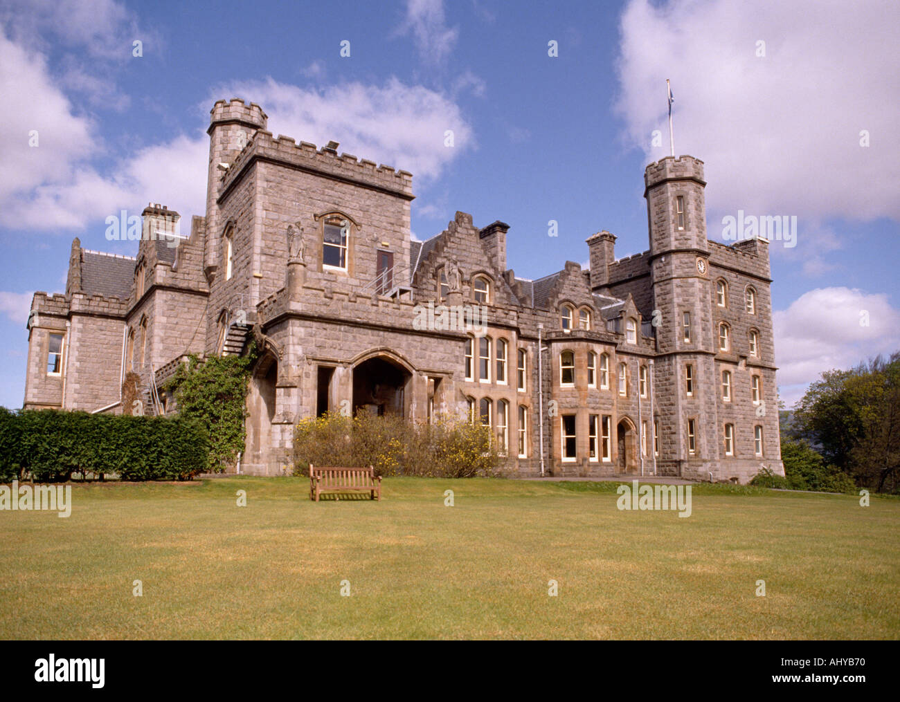 Inverlochy Castle Hotel At Fort William In Scotland In Great