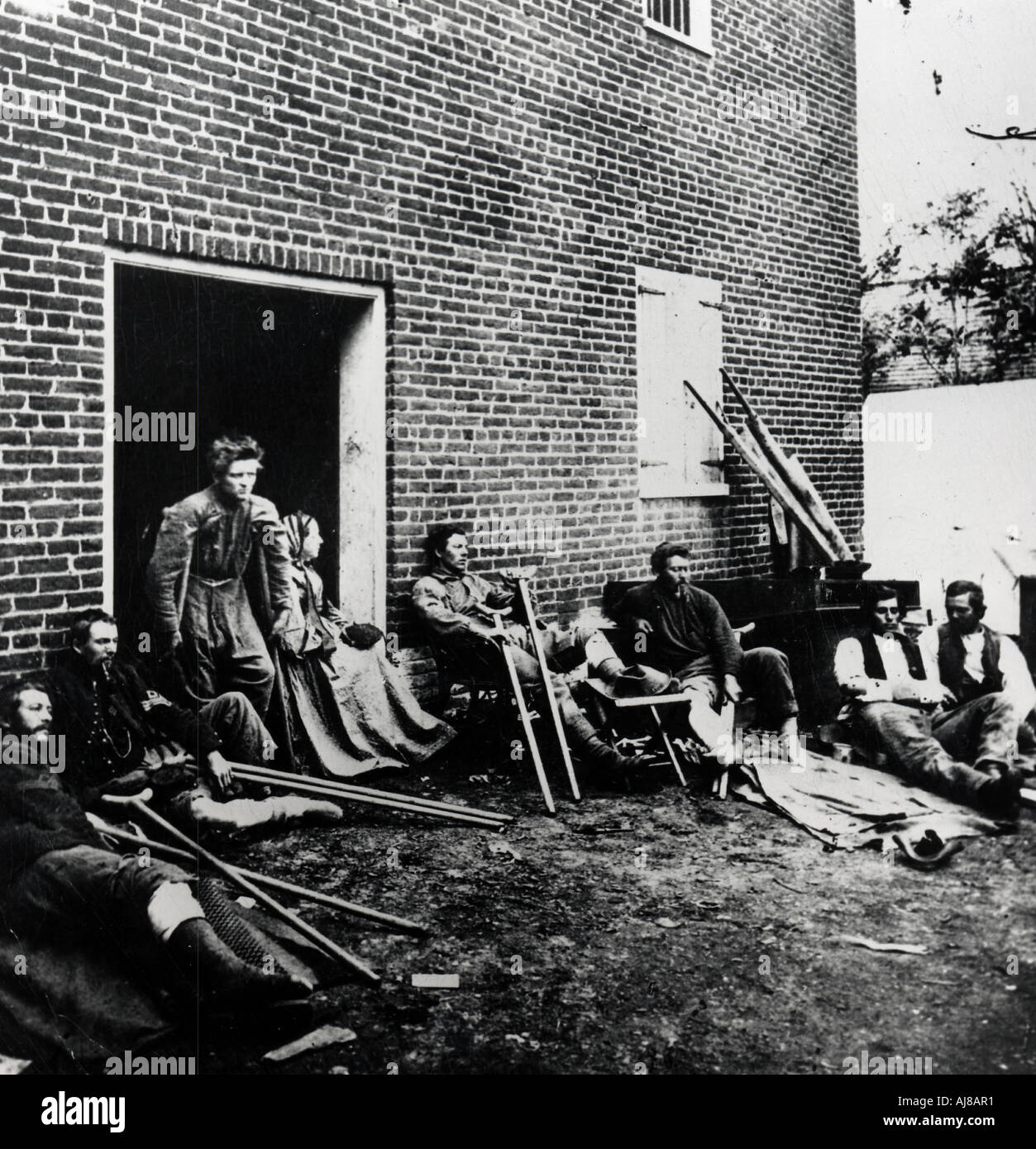 Casualties of the American Civil War 1861 1865 Stock Photo