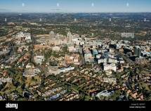 Aerial View Of Sandton City Left And