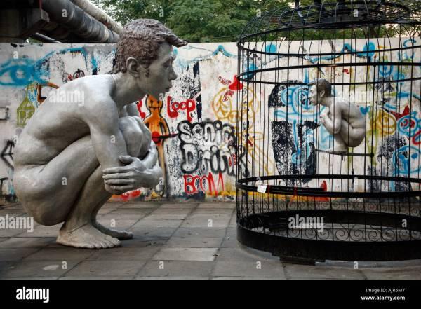 Sculpture In 798 Art District Beijing China Stock 14794778 - Alamy