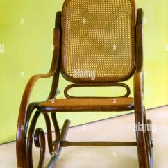 Rocking Chair Cane Game Best Buy Bentwood 1930s Stock Photo 14828288 Alamy