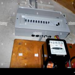Electric Meter Box Wiring Diagram Uk Rj45 To Db25 Electrical Fuse Under Stairs Of House With Standard