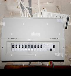 fusebox house stock photos fusebox house stock images alamy old home fuse box diagram house [ 1300 x 956 Pixel ]